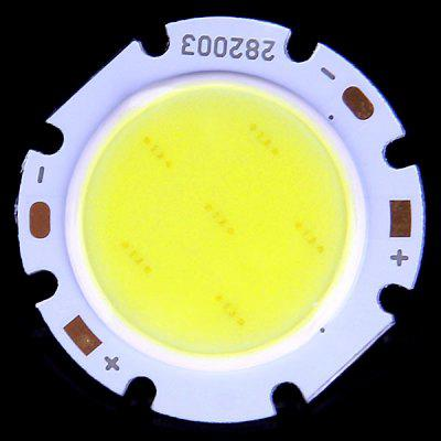 Buy COOL WHITE 3W COB LED Emitter 6000 6500K Cool White Light 300lm DC 9 12V for LED Bulb Lights for $1.11 in GearBest store