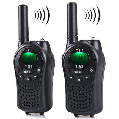 T-668 8-Channel 5km Twintalker Walkie Talkie Set