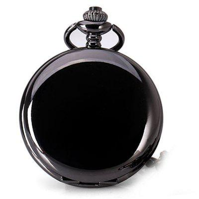 Popular Analog Indicate Chain Flip Pocket Quartz Watch