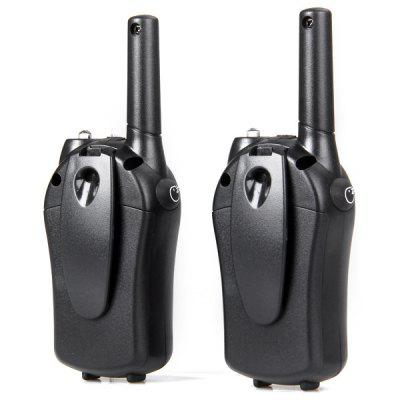 T - 668 8 - Channel LCD Screen VOX Walkie TalkieWalkie Talkies<br>T - 668 8 - Channel LCD Screen VOX Walkie Talkie<br><br>Channel Spacing: 12.5 / 25KHz<br>Memory Channels: 8<br>Model Number: T - 668<br>Modulation (broadband/narrowband): FM - F3E<br>Package Contents: 2 x Walkie Talkie, 1 x User Manual<br>Package Dimension: 15.50 x 8.00 x 6.00 cm / 6.1 x 3.15 x 2.36 inches<br>Package weight: 0.2000 kg<br>Product Dimension: 14.50 x 5.00 x 2.80 cm / 5.71 x 1.97 x 1.1 inches<br>Product weight: 0.0640 kg<br>Special function: VOX function; Autoscan<br>Spurious Power: no more than 500mW