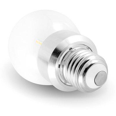 E27 260lm 3.5W 36 - SMD 3014 LED AC220V 6000K White LED Ball BulbGlobe bulbs<br>E27 260lm 3.5W 36 - SMD 3014 LED AC220V 6000K White LED Ball Bulb<br><br>Available Light Color: Natural White,Warm White<br>Bulb Base Type: E27<br>Emitter Type: 3014 SMD LED<br>Features: Energy Saving, Long Life Expectancy, Low Power Consumption<br>Function: Home Lighting, Commercial Lighting, Studio and Exhibition Lighting<br>Luminous Flux: 260lm<br>Output Power: 3.5W<br>Package Contents: 1 x LED Ball Bulb<br>Package size (L x W x H): 6 x 6 x 12 cm<br>Package weight: 0.1 kg<br>Product size (L x W x H): 6 x 6 x 9.8 cm / 2.36 x 2.36 x 3.86 inches<br>Product weight: 0.04 kg<br>Sheathing Material: Glass<br>Total Emitters: 36<br>Type: Ball Bulbs<br>Voltage (V): AC 220