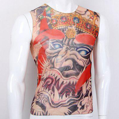 Tattoo Violent Ghost Design Fiets mouwen wielertrui Outdoor Sport Riding Suit chiffon T-shirt