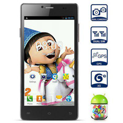 Android 4.2 MPIE P9 3G Phablet with 5.0 inch QHD Screen 1.3GHz MTK6572 Dual Core 4GB ROM GPS Dual Cameras