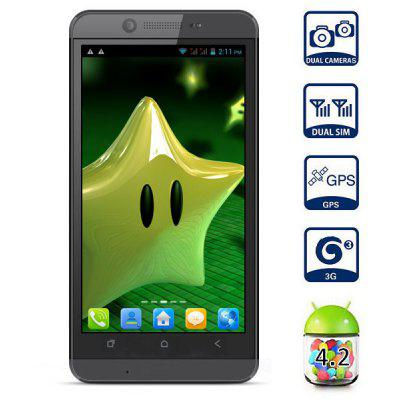 CUBOT ONE  -  S Android 4.2 3G Smartphone MTK6582 Quad Core 1.3GHz 1GB RAM 4GB ROM GPS 13.0MP Camera with 4.7 inch QHD Screen
