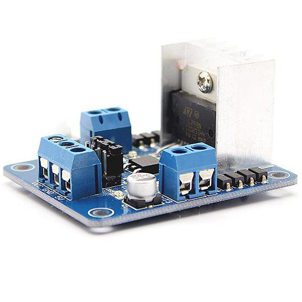 L298N Motor Driver Controller Board Module for DC and Stepper Motors (Arduino Compatible Core Module)