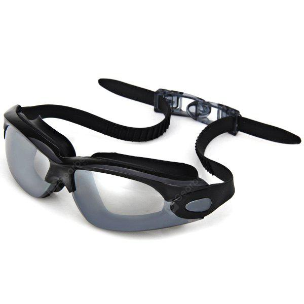 Popular OP928 Electroplating Lens Anti - fog and Anti - UV Silicone Swimming Glasses for Adult
