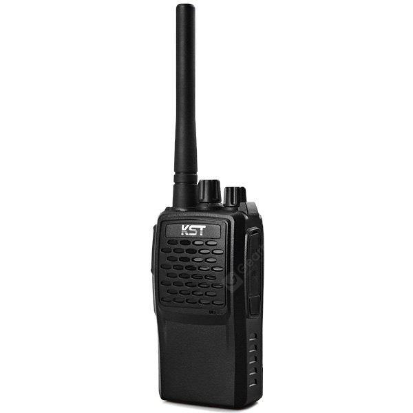 KST TK - N2 UHF 400 - 470MHz FM Transceiver CTCSS / DCS Code VHF FM Transceiver Walkie Talkie Two - way Radio Interphone BLACK