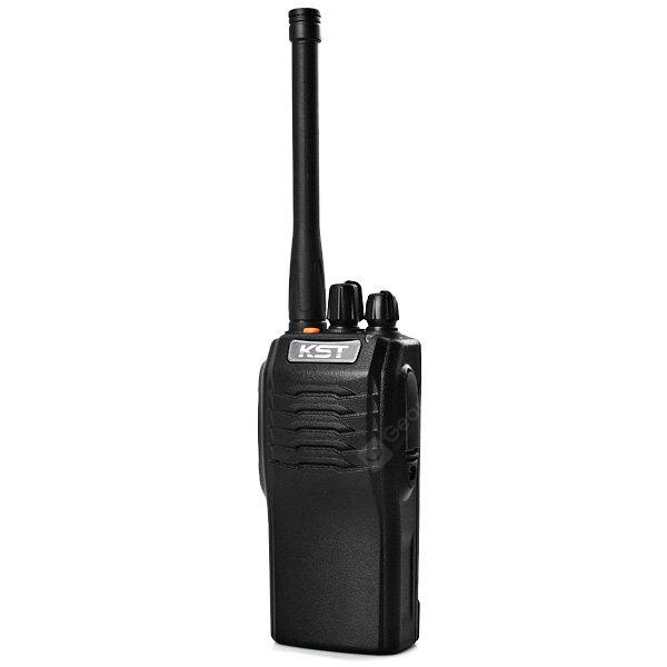 KST K - 208 IP67 Waterproof Handheld 16 Channels CTCSS / DCS Code VHF FM Transceiver Two - way Radio Interphone Walkie Talkie BLACK