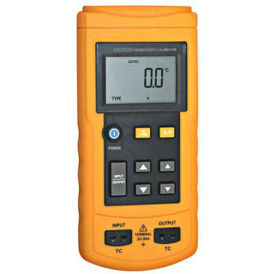 MS7220 High Precision Multifunction Rechargeable Digital Thermocouple Temperature Signal Source Process Calibrator Measure Meter
