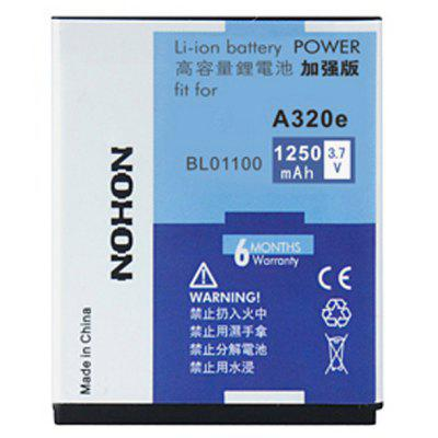 NOHON High Capacity 3.7V 1250mAh Replacement Battery for HTC A320e Desire C BL01100