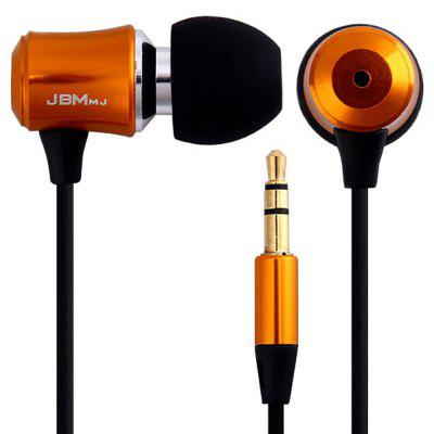 JBMMJ V8MP3 Fashion Three Dimensional Sound 1.2M Round Cable 3.5MM Jack In - ear Earphone / Headphone