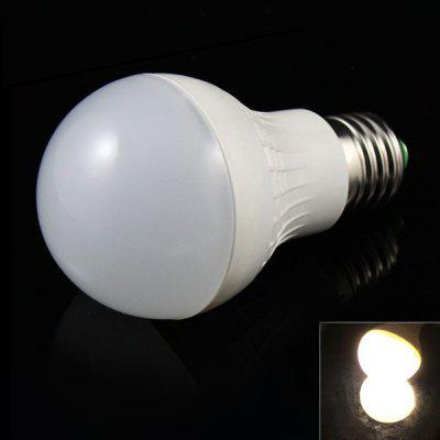E27 5W 9 x 5730 SMD LED AC85 - 265V 400lm Warm White 3500K Ball Bulb