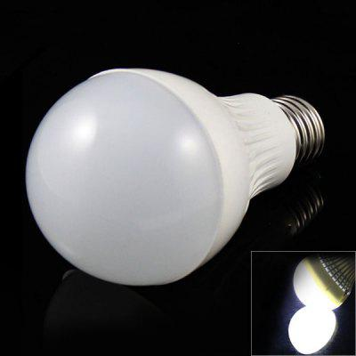 E27 7W 15 x 5730 SMD LED AC85 - 265V 570lm White 6500K Ball Bulb