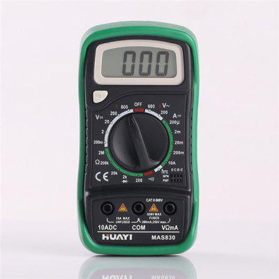 HUAYI MASS830 Mini Digital Ohmmeter Multimeter