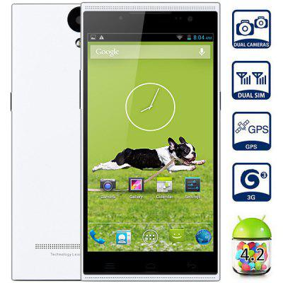 Ulefone U5 Android 4.2 3G Phablet MT6582 Quad Core 1.3GHz 1GB RAM 4GB ROM GPS with 5.5 inch QHD Screen