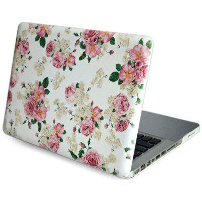 Peony Pattern Heat Emission PC Protective Case for Macbook Air Pro Retina 13.3
