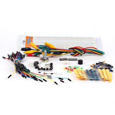 Development Board Starter Kit with Basic Component Pack Set for Arduino Workshop Beginners