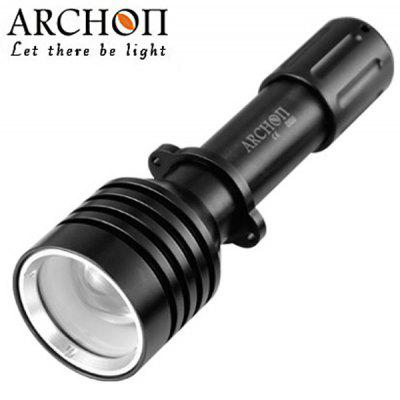 Archon D10U Diving Torch Cree XM - L U2 3 - Mode 860lm Highlight LED White Underwater 60m Flashlight (1 x 18650 Battery)