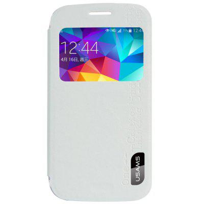 USAMS Merry Series PU + PC Cover Case with View Window for Samsung Galaxy S5 Zoom C1158