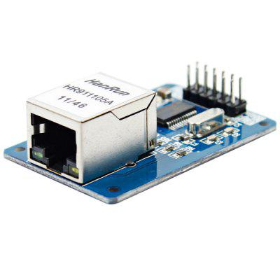 Arduino Compatible ENC28J60 Ethernet LAN Network Module for STM32 / 51 / AVR / LPC)