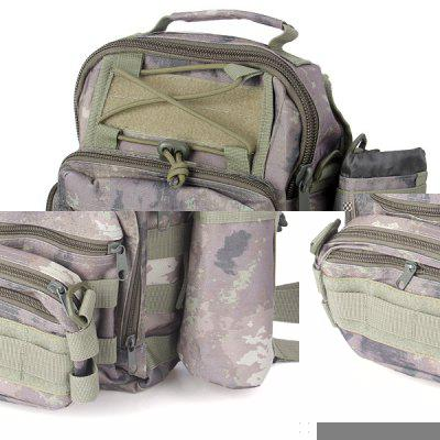 Multi - purpose Water Resistance Shoulder Bag Tactical Style Molle Combination Bag for Outdoor Camping Hiking Travel