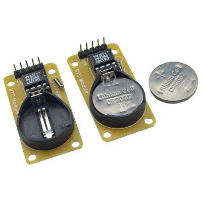DMDG 2pcs DS1302 RTC Real Time Clock Module with CR2032 Button Cell for Arduino