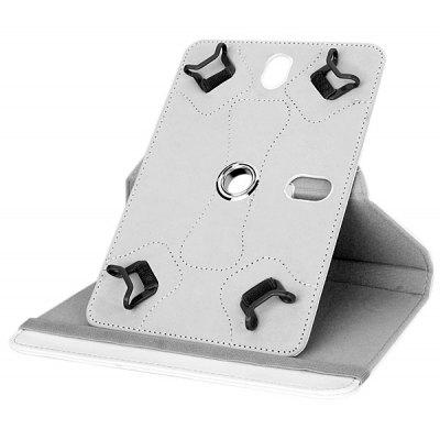 Folding Stand Rotatable PU Case with and Four Buckles Design for 7 inch Universal Tablet PC