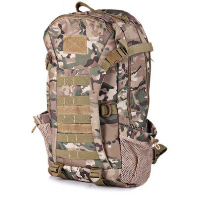 35L Multipurpose Water Resistant Tactical Style Backpack with Molle System for Outdoor