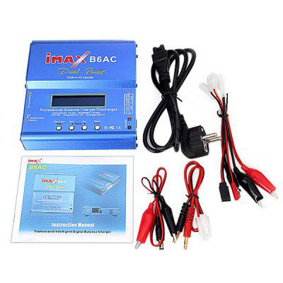 Genuine IMax B6 Style LCD Digital RC Lipo NiMh 2S  -  6S Battery Balance Charger + EU AC Power Adapter Cord
