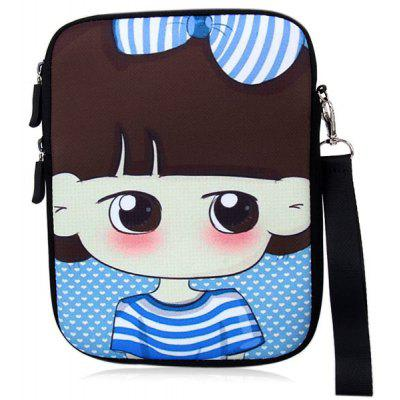 Comfortable Soft Bag Pouch with Lovely & Stylish Angry Xiao Xi Pattern for iPad Mini