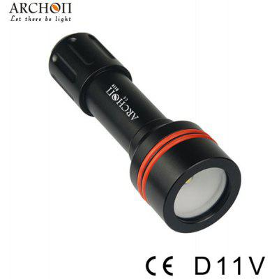 Archon D11V Diving Torch Cree XM - L U2 3 - Mode 860lm Highlight LED White Underwater 100m Flashlight (1 x 18650 or 2 x CR123 Battery)
