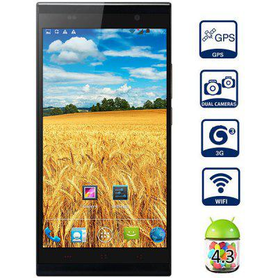 KINGZONE K1 Android 4.3 MTK6592 3G Smartphone Octa Core 1.7GHz 2GB RAM 16GB ROM Gesture Sensing GPS NFC OTG With 5.5 inch FHD Screen