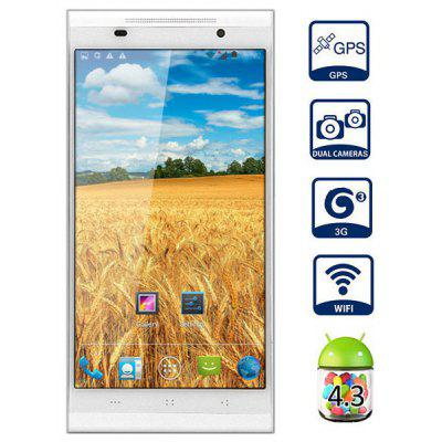 KINGZONE K1 Android 4.3 MTK6592 3G Smartphone Octa Core 1.7GHz 1GB RAM 16GB ROM Gesture Sensing GPS NFC OTG With 5.5 inch HD Screen