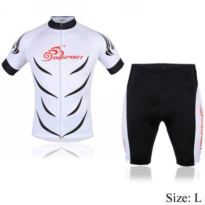 Polyester Men Bicycle Cycling Jerseys Suit Cycling Colthing Set