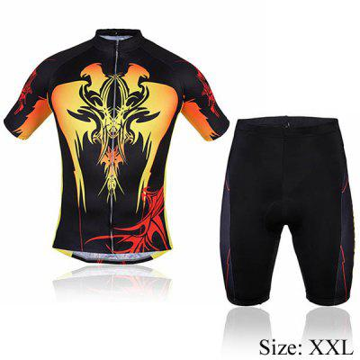 Men Summer Bicycle Cycling Clothing Shirt Jerseys Cycling Shorts
