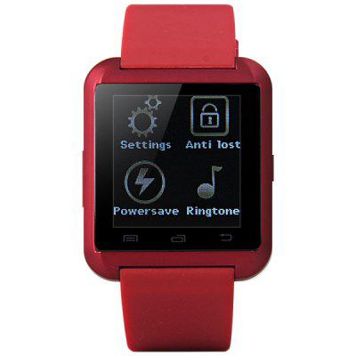 U8 Smartwatch WatchSmart Watch Phone<br>U8 Smartwatch Watch<br><br>Available Color: Black,Red,White<br>Brand: U Watch<br>Compatible models: Smartwatch Bluetooth Watch<br>For: Mobile phone<br>Package Contents: Smartwatch Bluetooth Watch<br>Package size (L x W x H): 12.20 x 9.20 x 6.10 cm / 4.8 x 3.62 x 2.4 inches<br>Package weight: 0.1620 kg<br>Product size (L x W x H): 4.80 x 4.10 x 1.20 cm / 1.89 x 1.61 x 0.47 inches<br>Product weight: 0.0400 kg