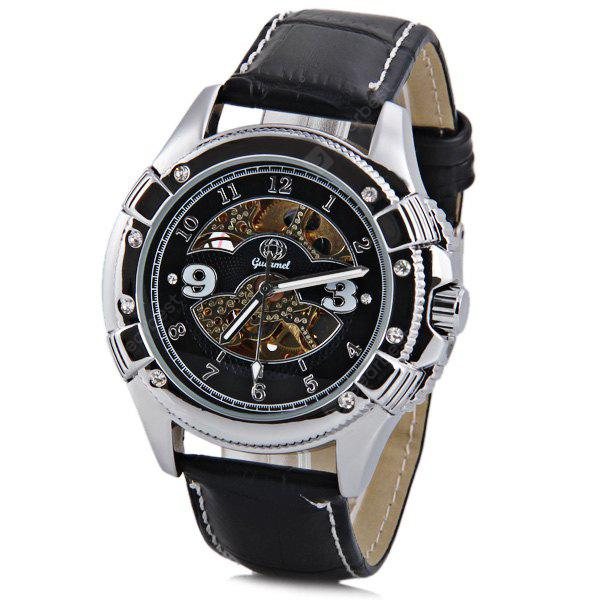 Gucamel Stylish Men Automatic Mechanical Watch With Analog