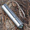 SingFire SF - 345B Torch Cree XP - E R3 3 - Mode 180lm Highlight LED White Stainless Steel Flashlight Silver (1 x 18650 or 3 x AAA Battery)