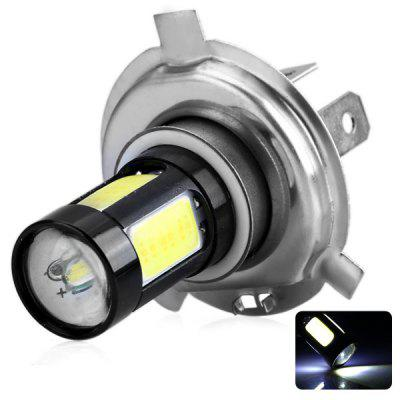 H4 12V 25W 1825 Lumens White Light COB LED White Light Car Light Fog Lamp Daytime Running Light Bulb