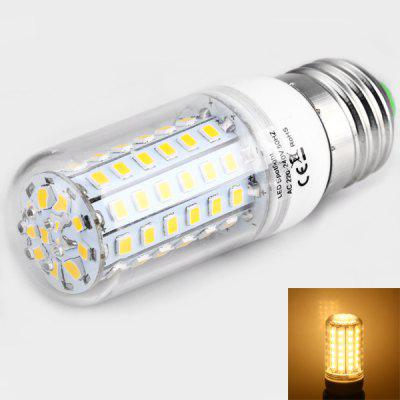 E27 6W 72 x 2835 SMD LED AC220 - 240V 320lm Warm White 3200K Corn Lamp