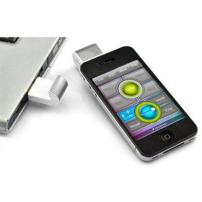 PR - 02 Deluxe Mini Wireless Remote Control Integrative Presenter Clicker for iPhone / iPad