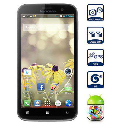 Lenovo A850 Android 42 3G Smartphone MTK6582 Quad Core 13GHz 1GB RAM 4GB ROM GPS
