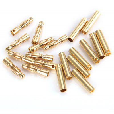 Special Design 10 Pairs 4.0mm Banana Bullet Connector DIY RC Battery ESC Motor Plug
