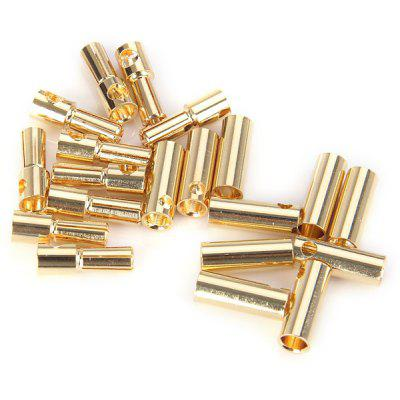 Special Design 10 Pairs 5.0mm Banana Bullet Connector DIY RC Battery ESC Motor Plug
