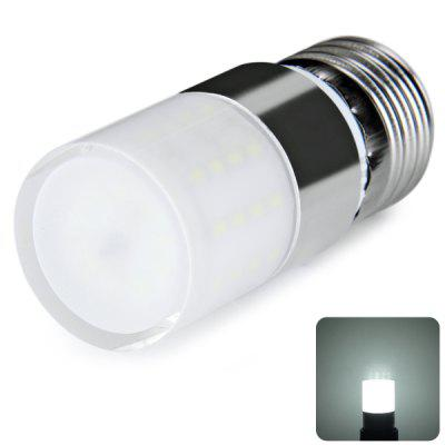 E27 52 x 3014 SMD LED 5W AC100 - 240V 600lm Corn Lamp with Lamp Shade  -  White Light