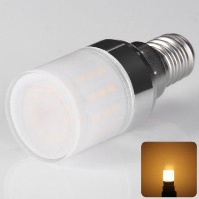 E14 50 x 3014 SMD LED 4W AC220 - 240V 500lm Corn Lamp with Lamp Shade  -  Warm White Light