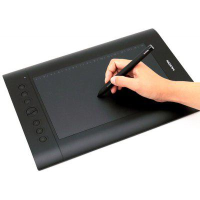 Huion H610 Pro Digital Graphic Tablets With Pen