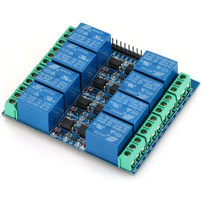 Buy EL817 Practical 5V 10A Optocoupler Relay Module 8 Channels for $7.32 in GearBest store