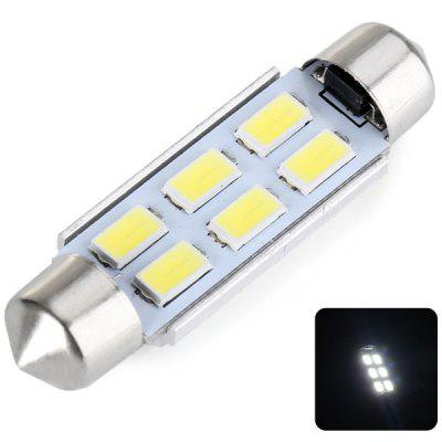 43MM Double Pointed 3W 6 x 5730 SMD LED DC12V White Reading Light