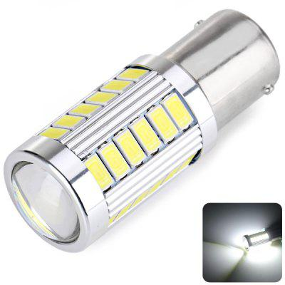 1156 9W 33 - LED SMD 5730 LED DC12V 6000 - 7000K White Car Fog Light Brake Light with Convex Lens